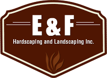 Logo, E & F Hardscaping and Landscaping Inc., Landscaping Contractors in Drexel Hill, PA